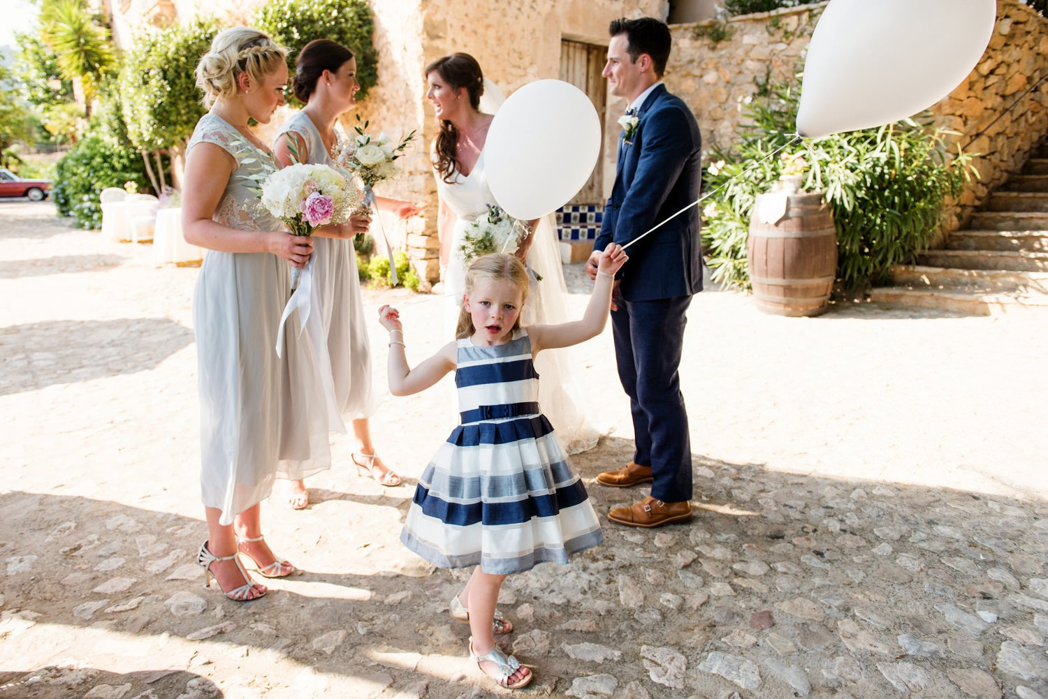 Creative storytelling wedding photography Mallorca