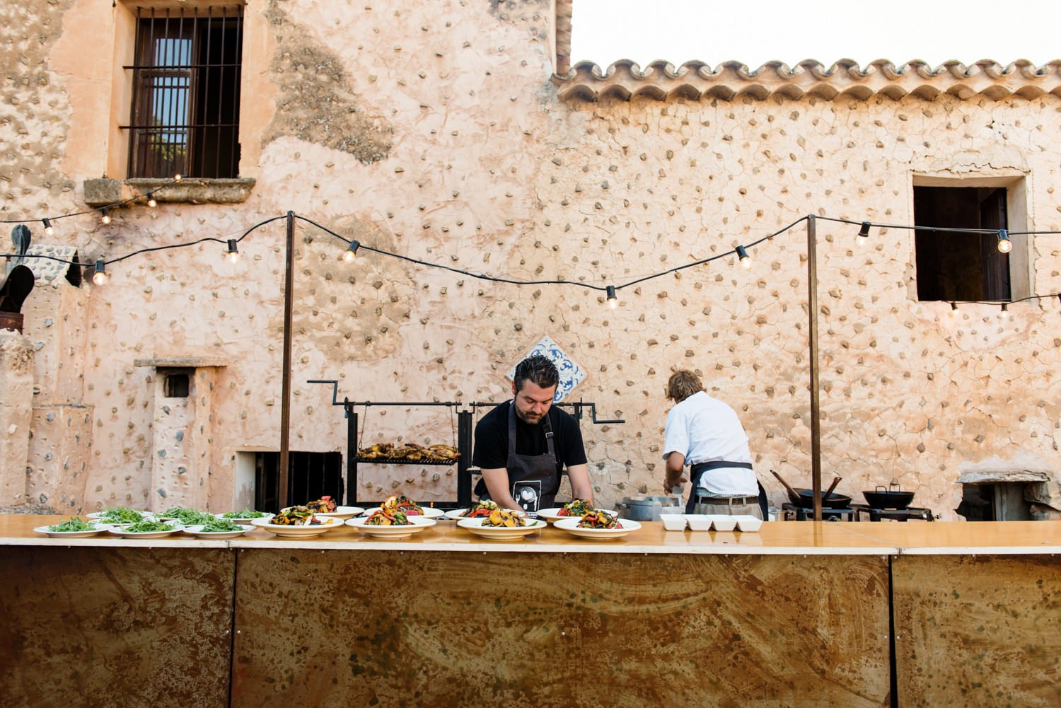 Andreas Aberg wedding catering at Finca Son Bosch Mallorca