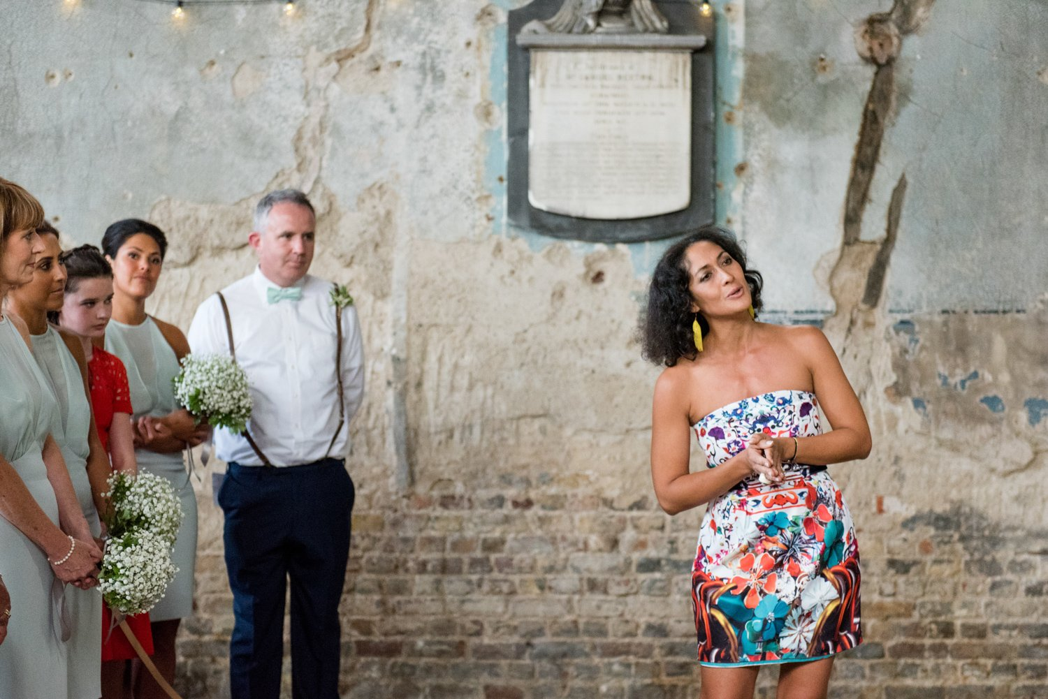 Reportage warehouse wedding London