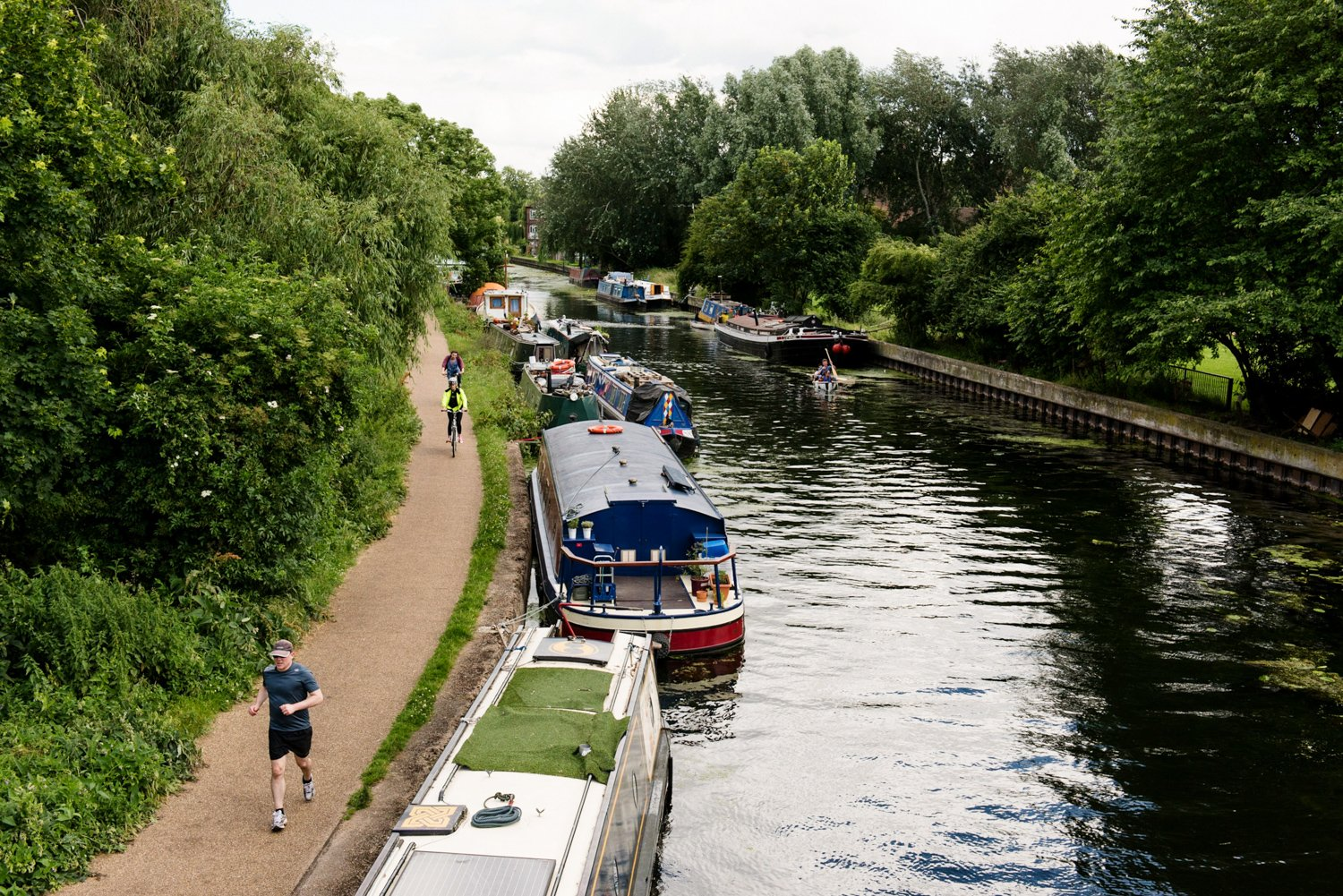 Hackney canal same sex London wedding