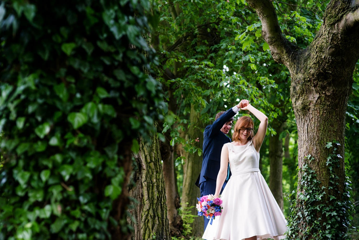 quirky wedding photography hertfordshire