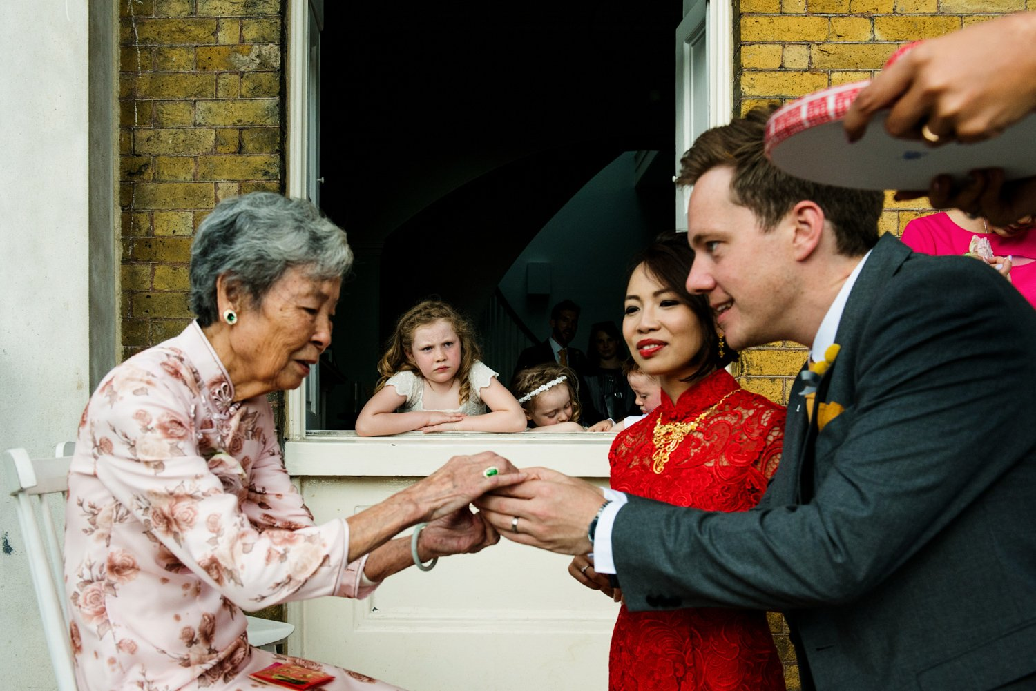 Documentary award winning wedding photography London