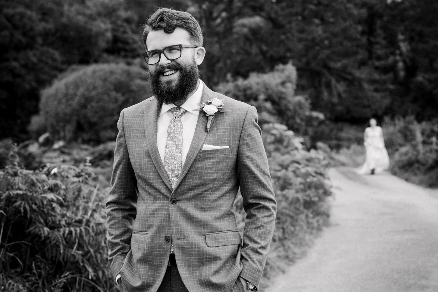 Alternative outdoor wedding photography Co Kerry Ireland