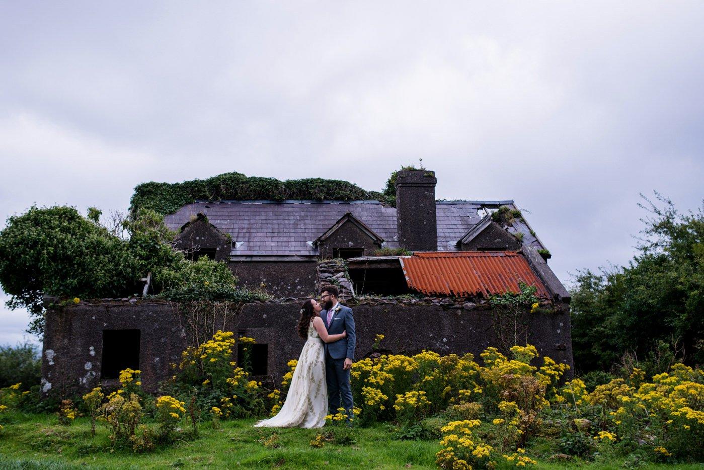 Destination wedding photography Co Kerry Ireland