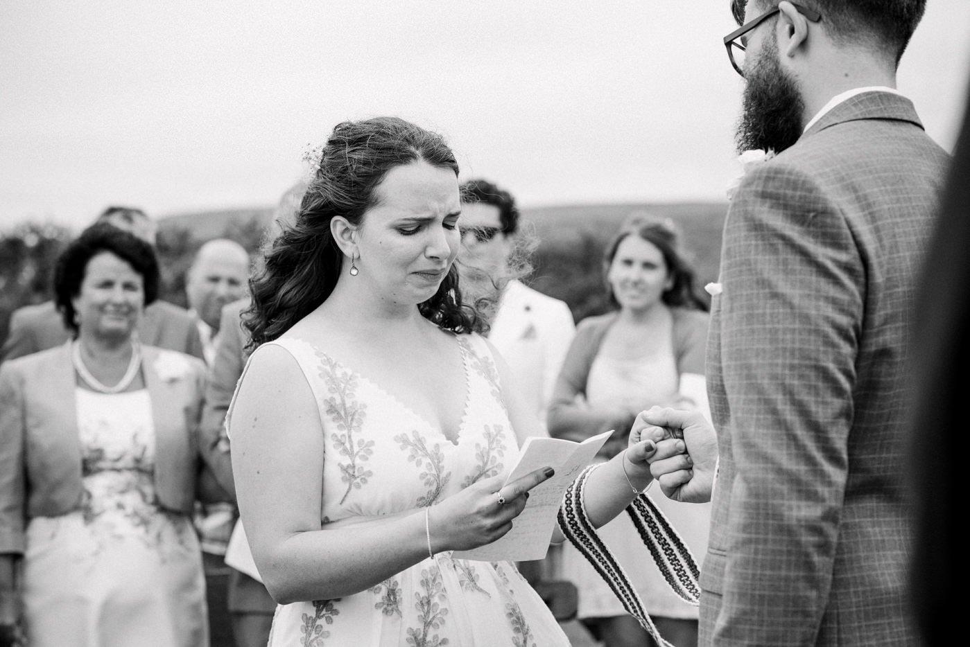 Emotional documentary wedding photography Co Kerry Ireland