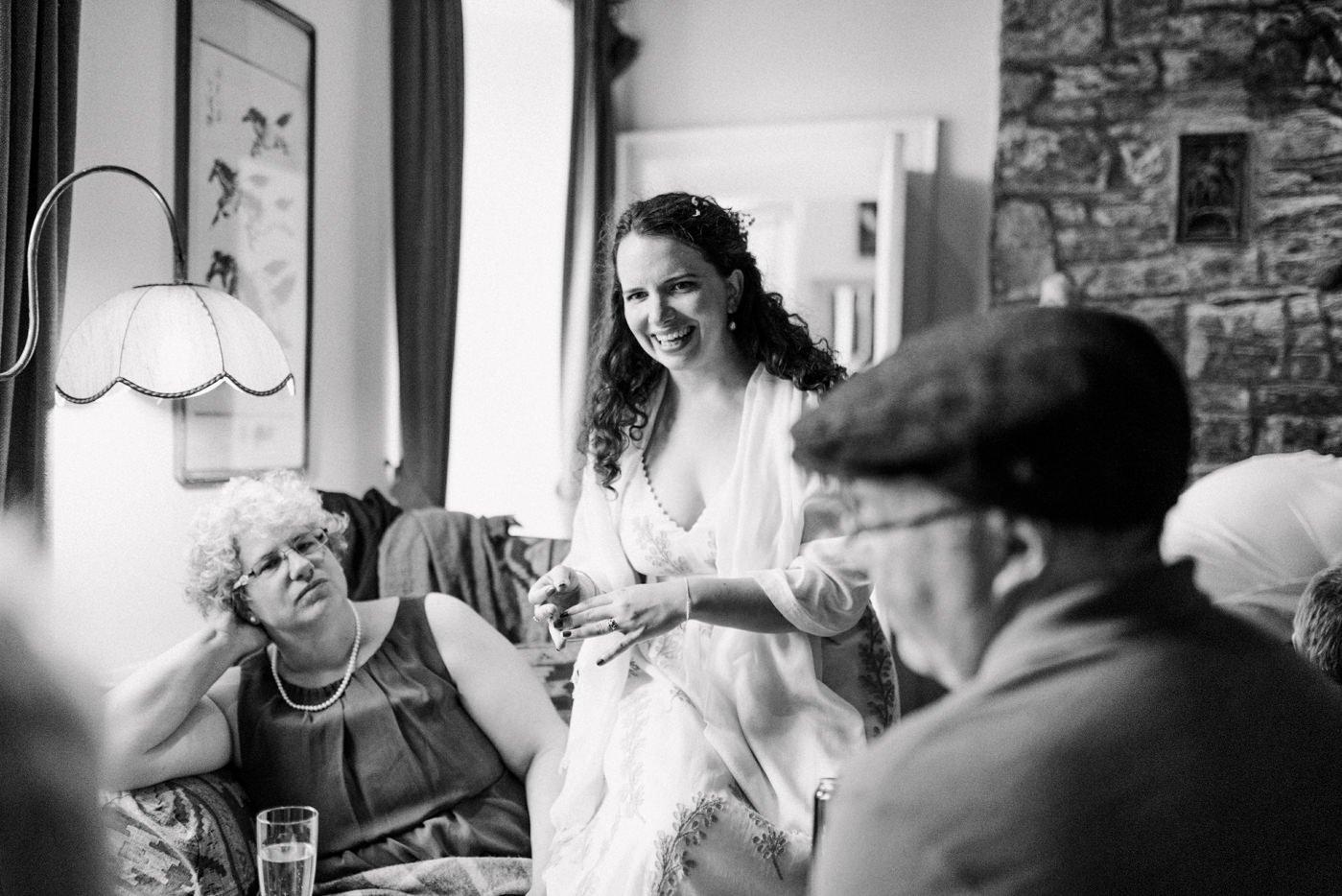 Documentary wedding photography bohemian wedding Co Kerry Ireland