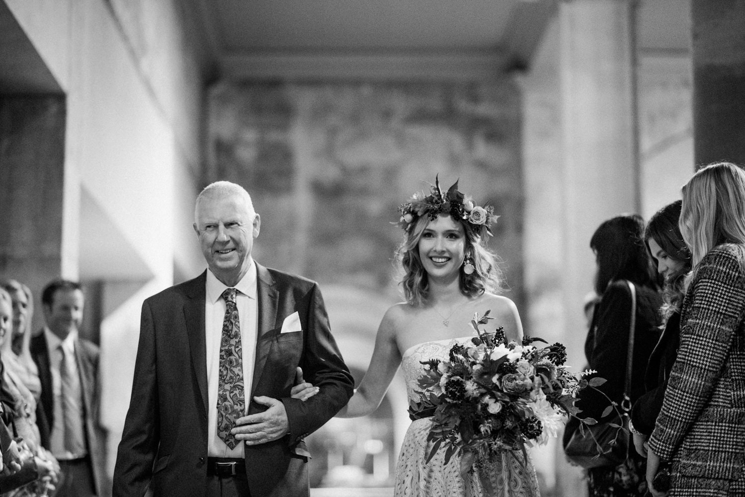 Roman Baths Somerset wedding photography