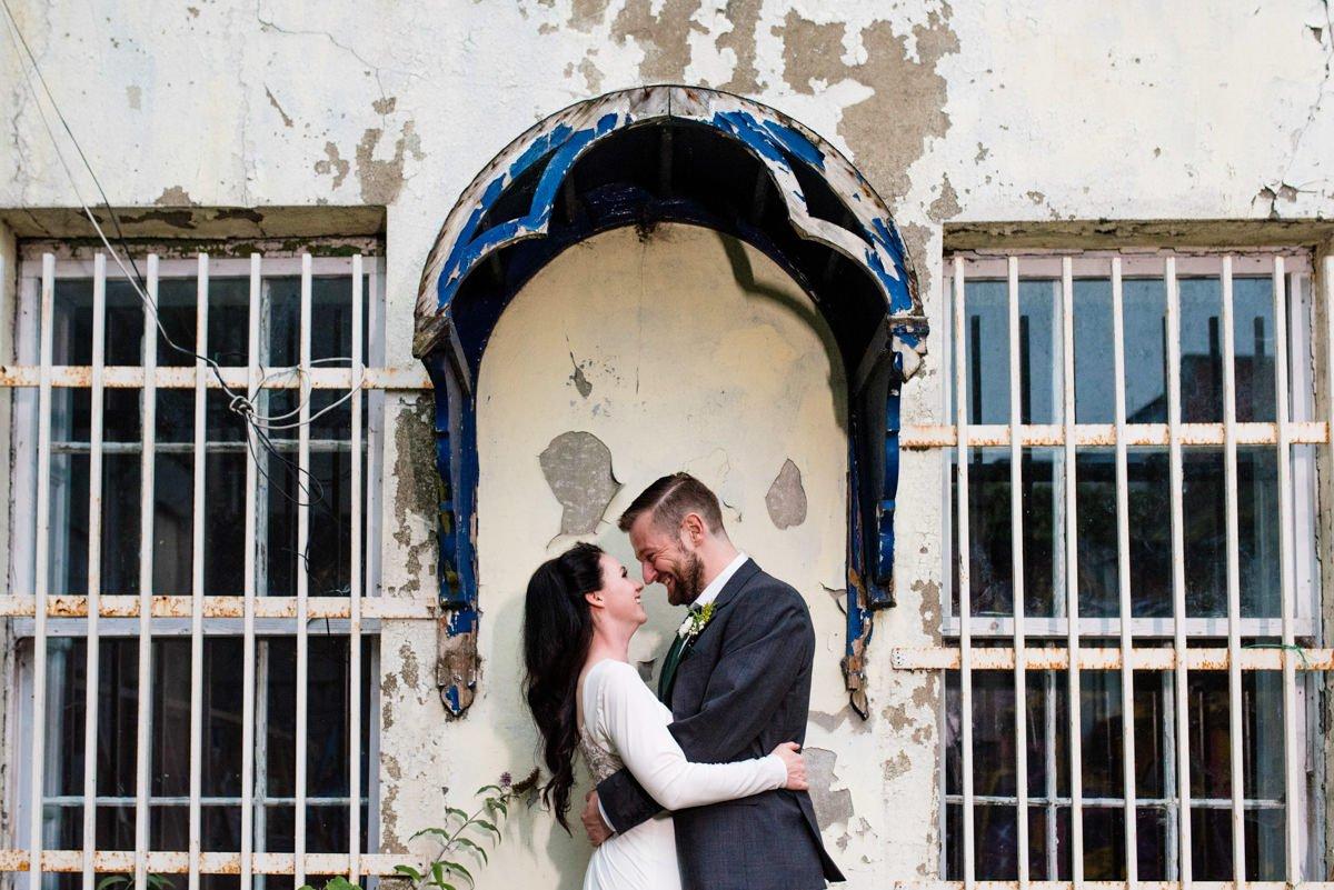 Alternative wedding portrait photography Derry Northern Ireland
