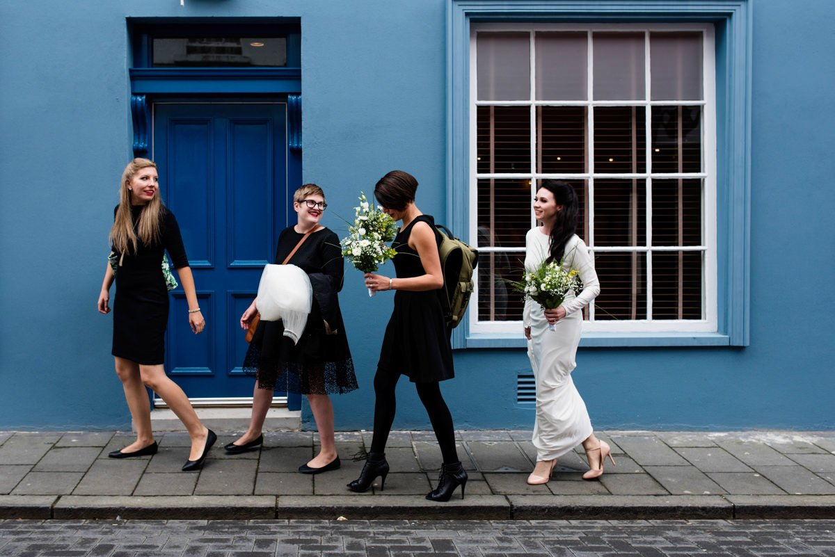 Quirky wedding photography Derry Northern Ireland