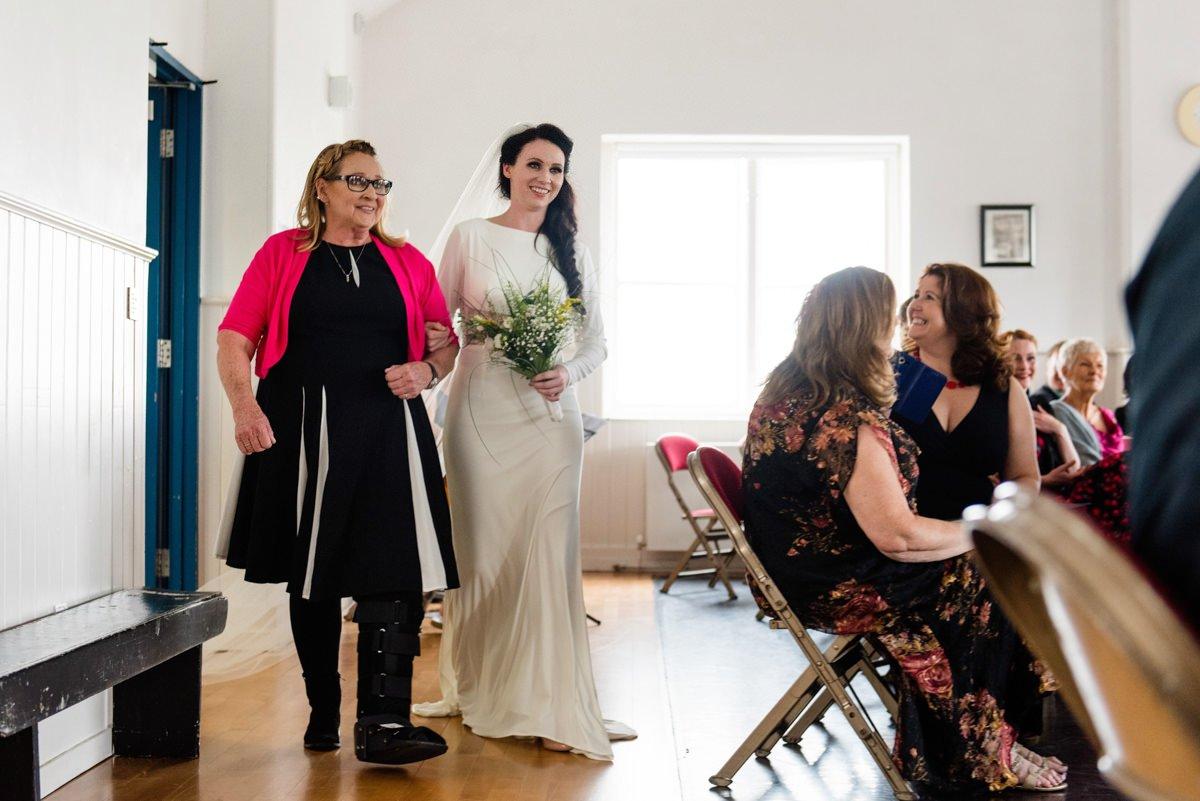 The Playhouse Derry destination wedding photography Northern Ireland