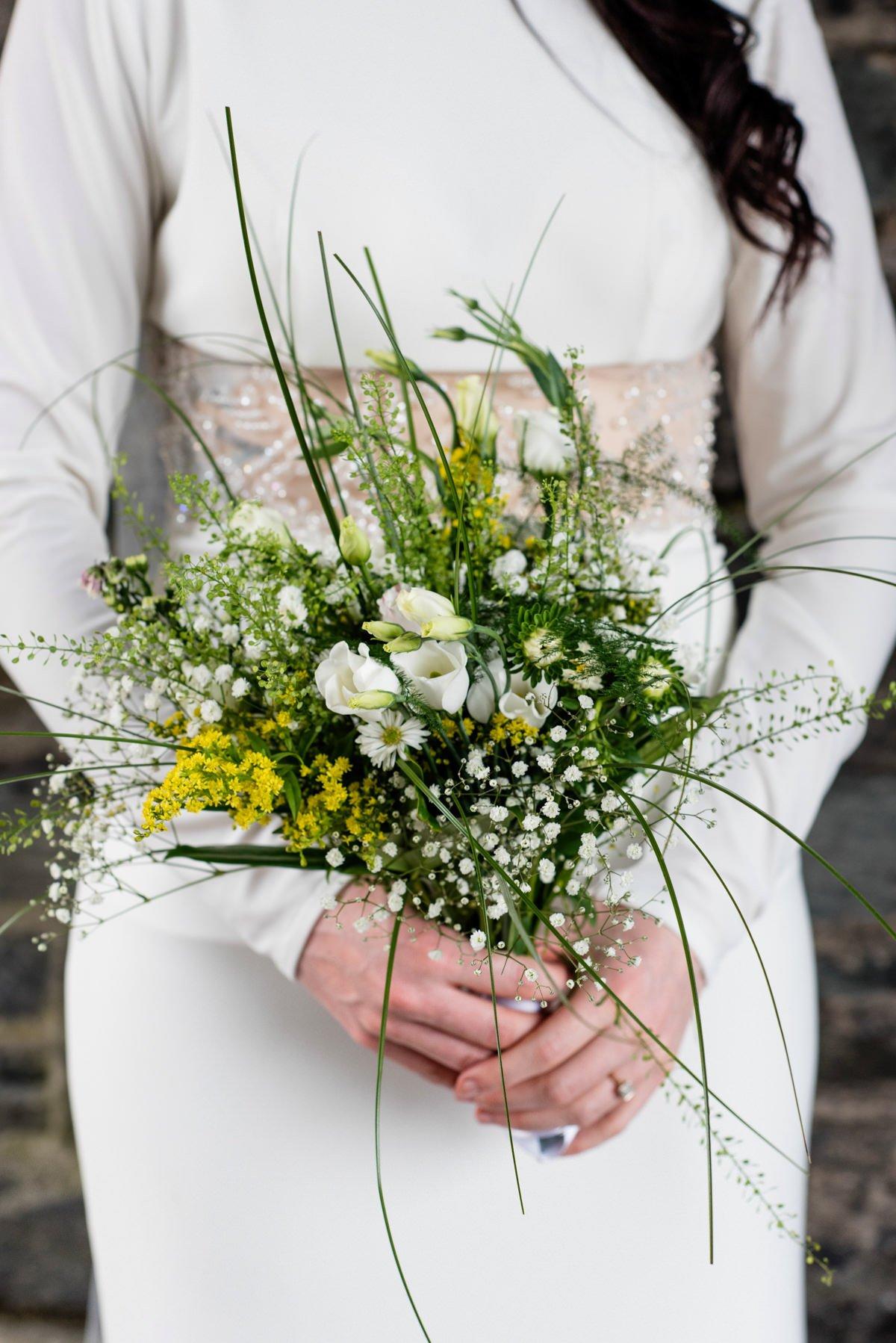 Taryn Gleeson bridal bouquet Derry Northern Ireland
