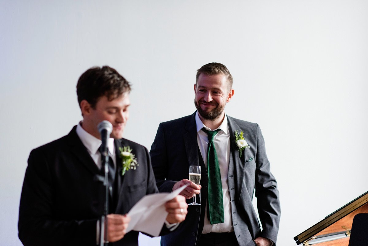 Relaxed documentary wedding photography Derry Northern Ireland