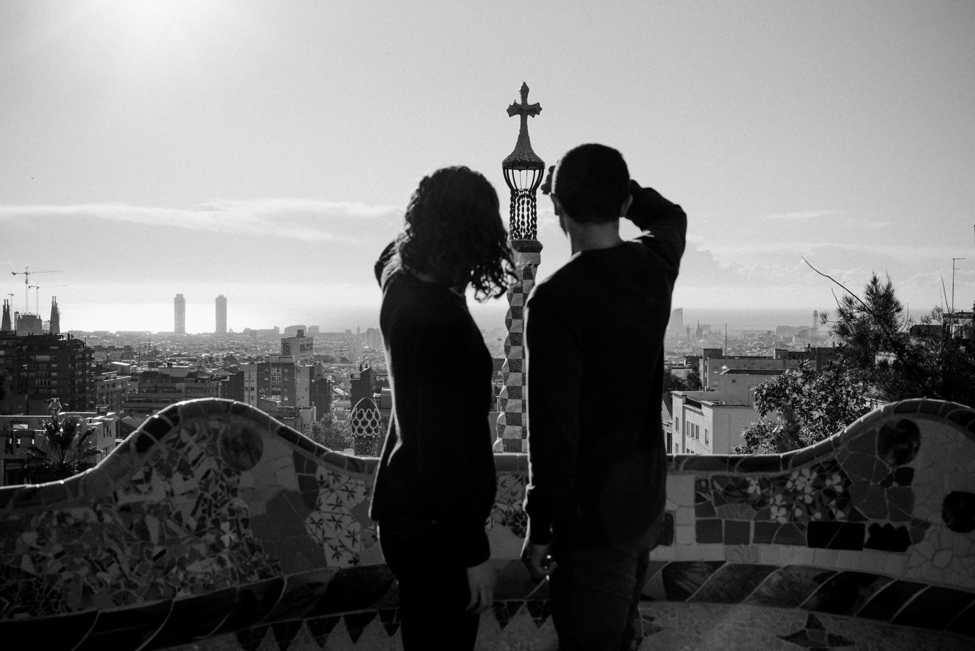 Creative engagement photography Barcelona