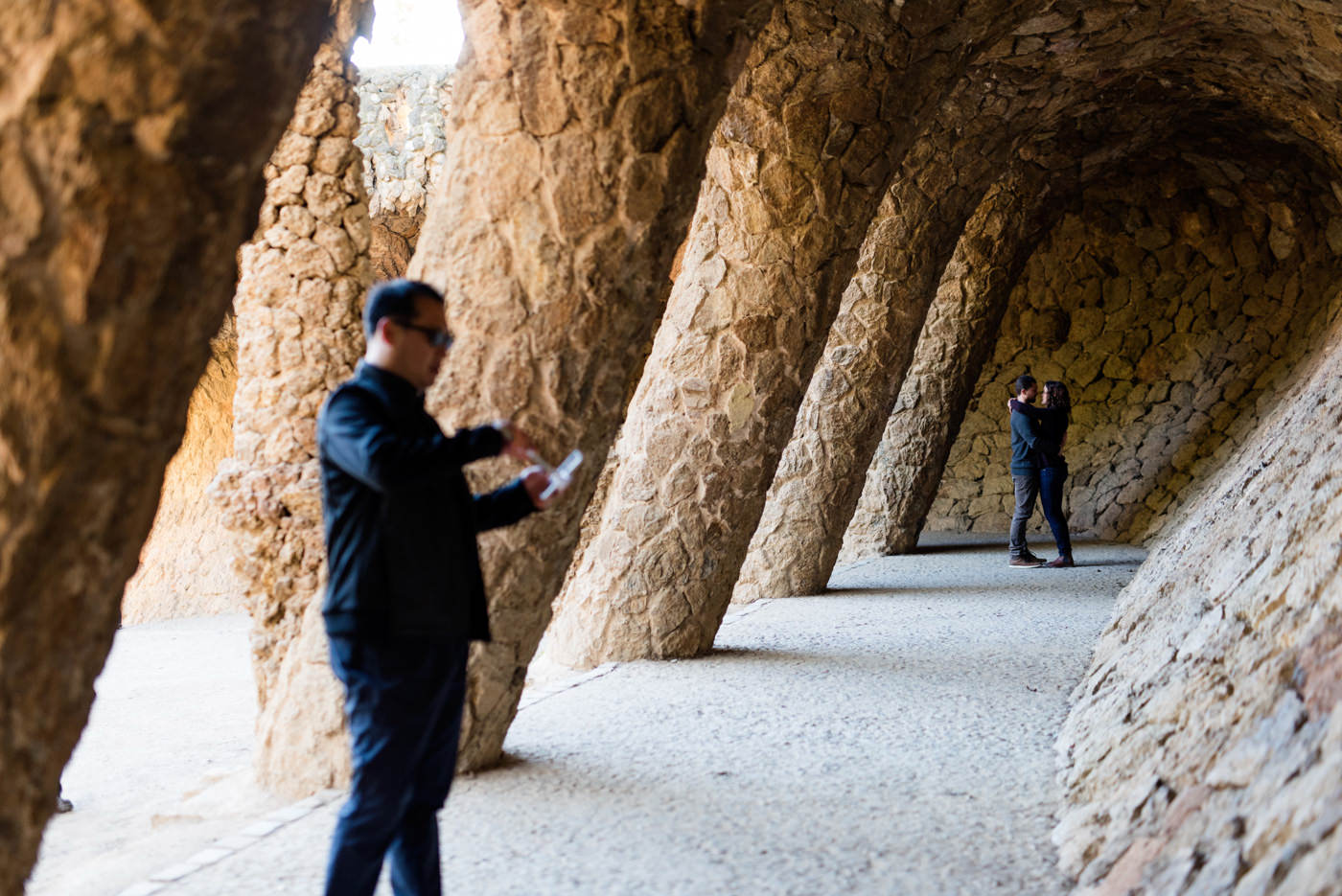 Carmel Bunkers engagement shoot Barcelona