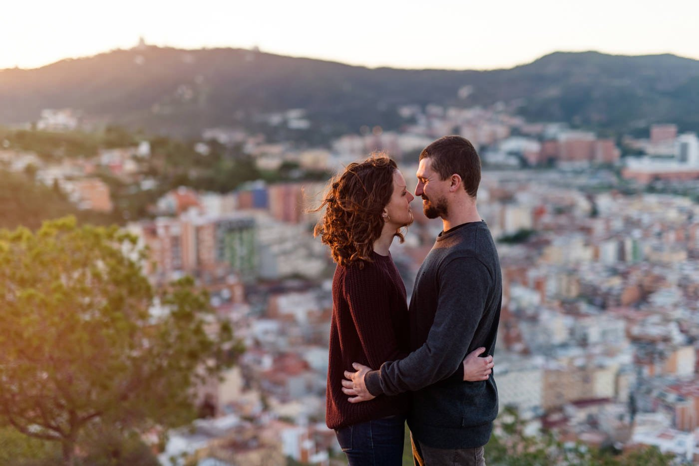 Magical engagement photography Babb photo Barcelona