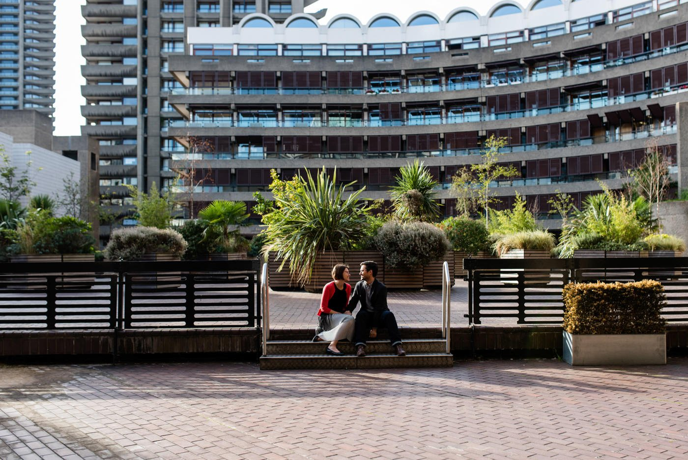 barbican pre wedding photos