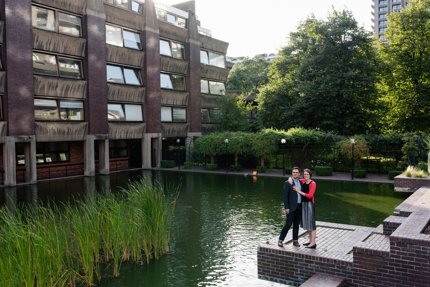 Barbican Engagement Photography