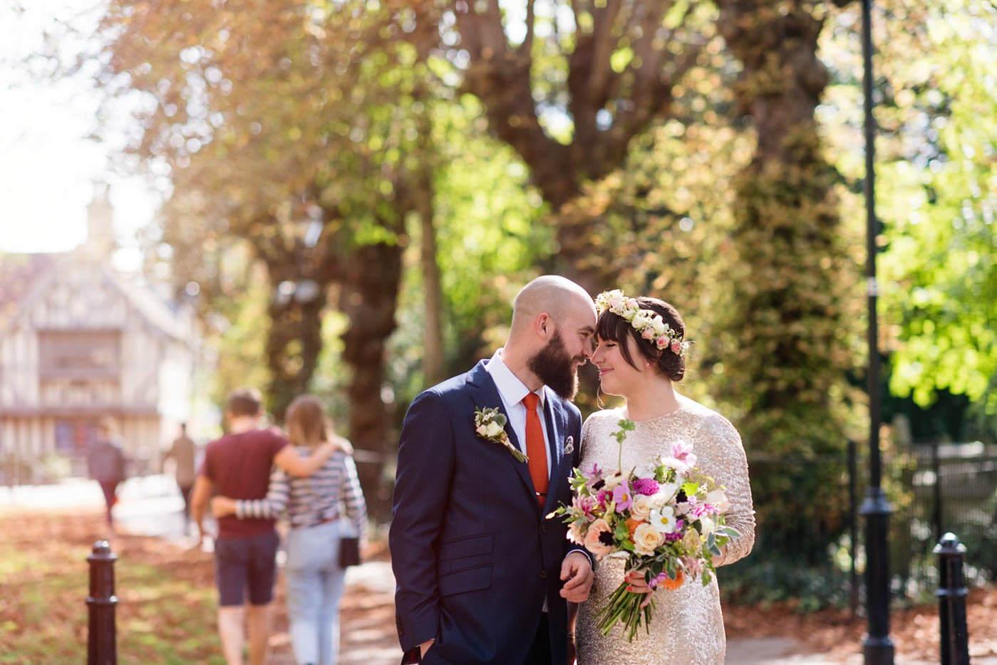 How to overcome camera shyness wedding pictures