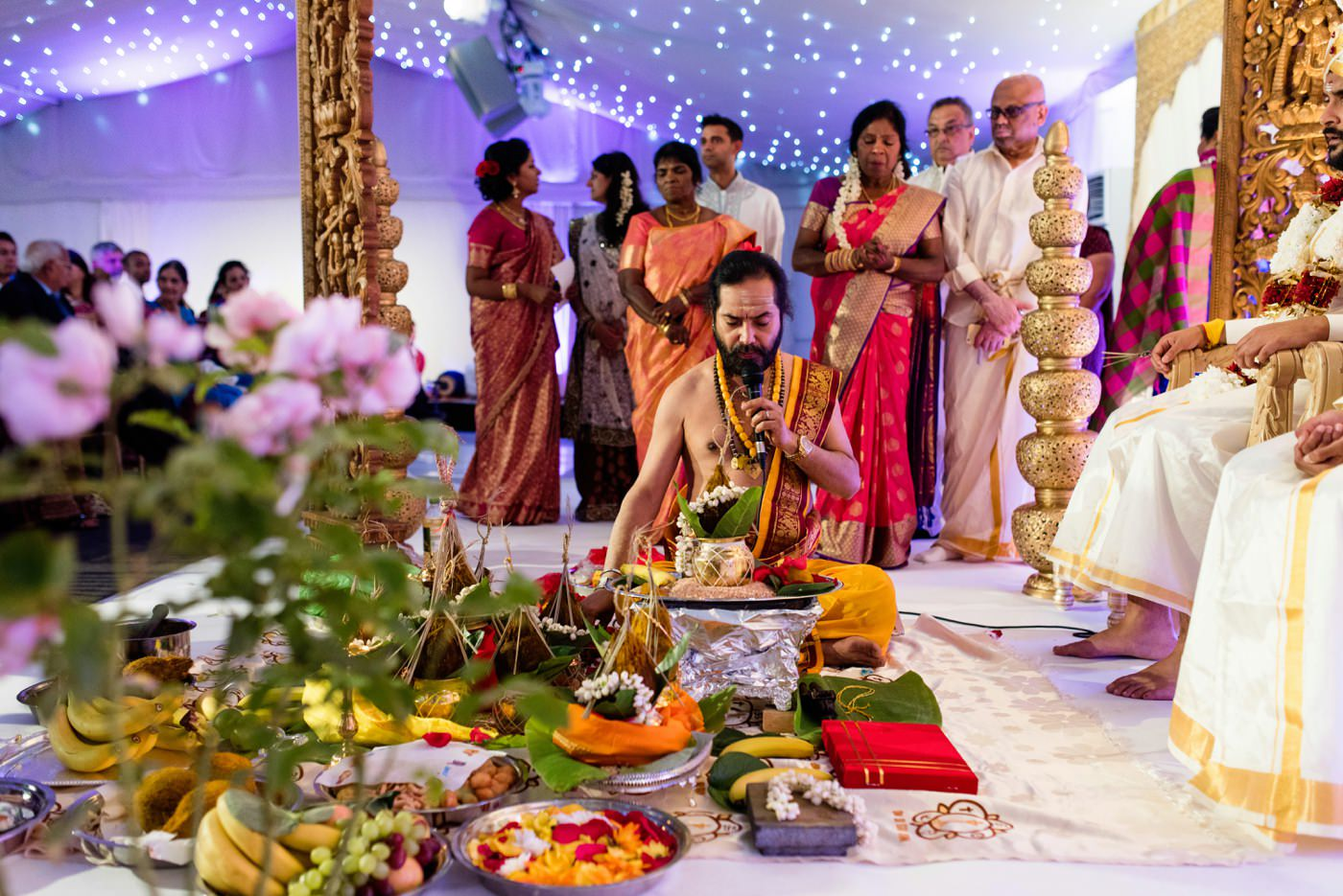 Hindu wedding photography Painshill Park Surrey