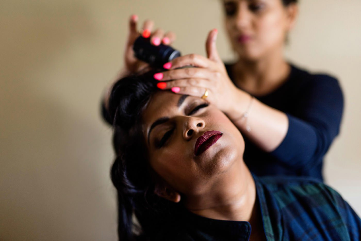 MarUsh hair and make up artists Surrey Indian wedding