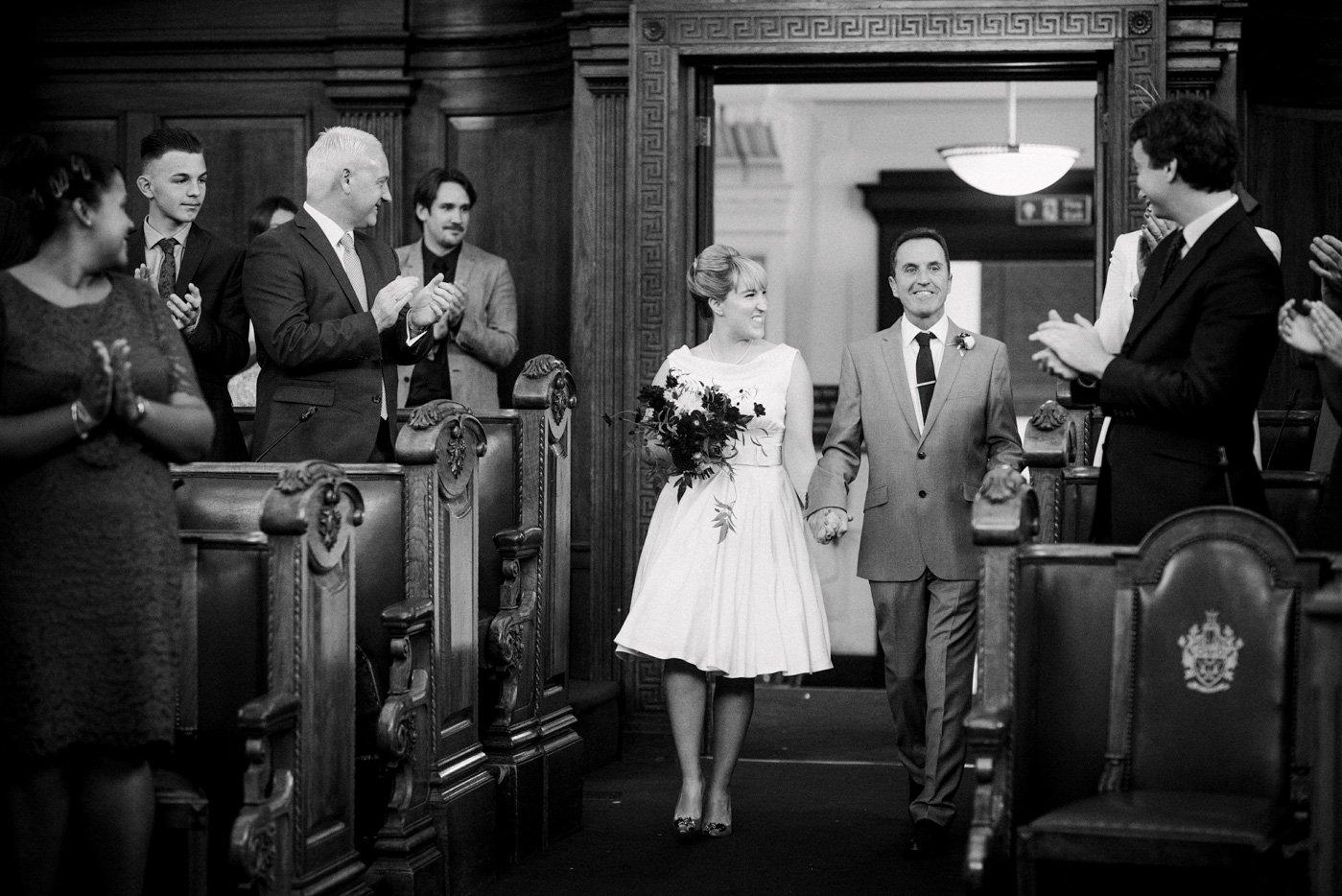 Islington Town Hall wedding London