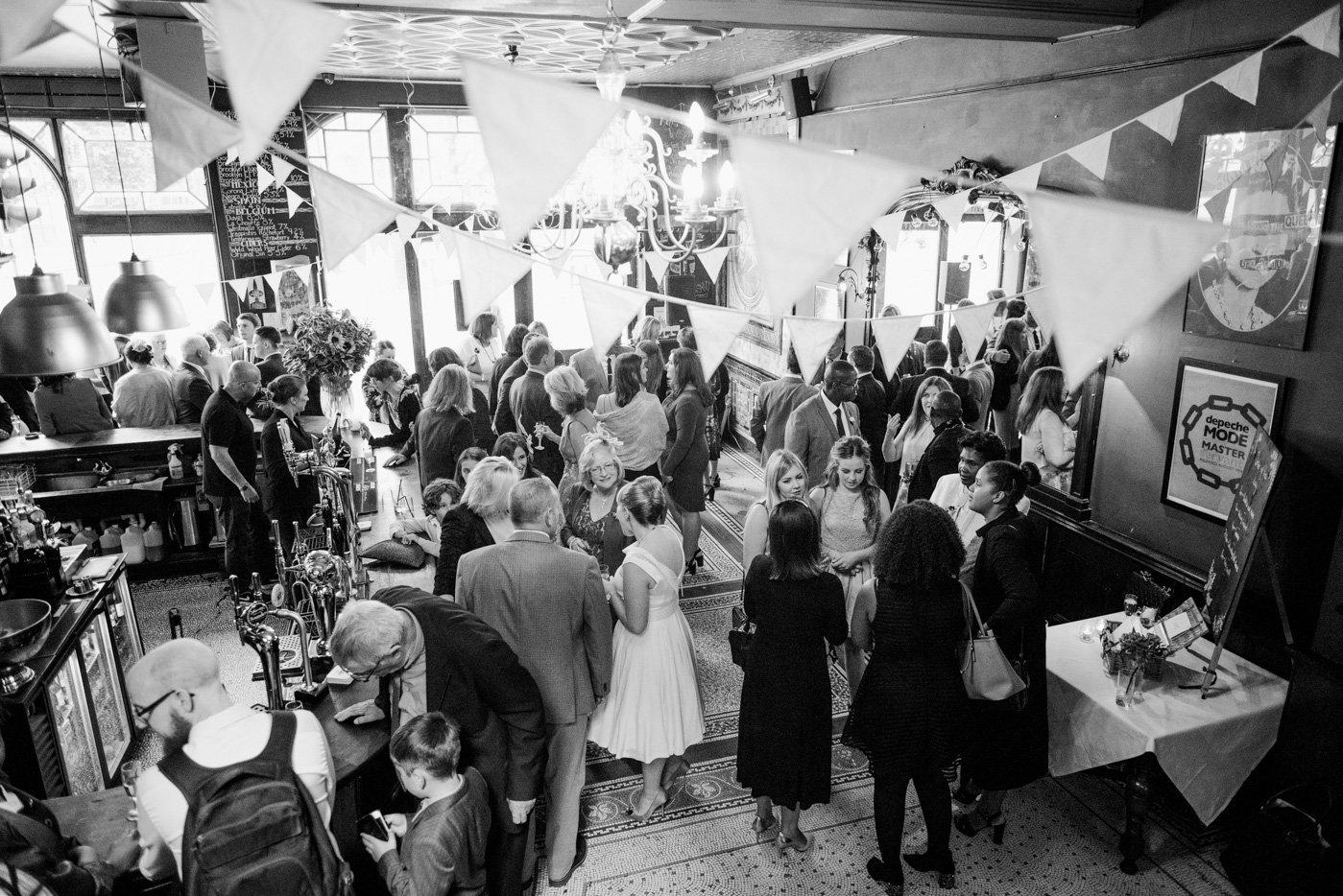 The Peasant London pub wedding