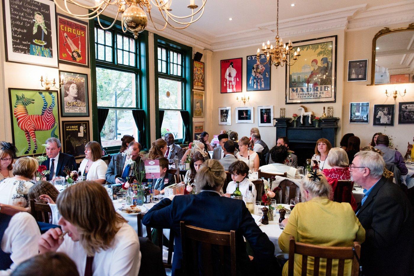 The Peasant pub wedding London