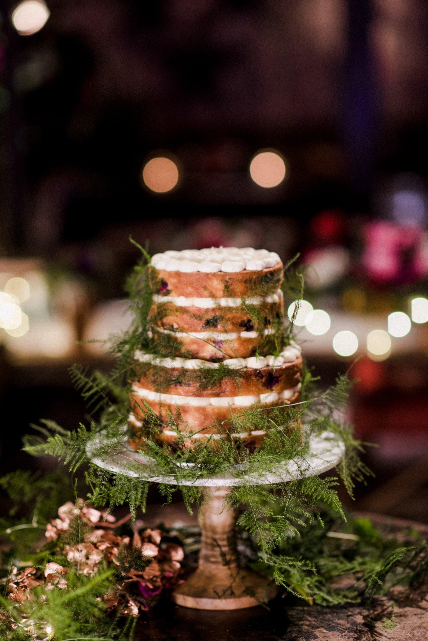 Naked cake St Barts Brewery Wedding Photography