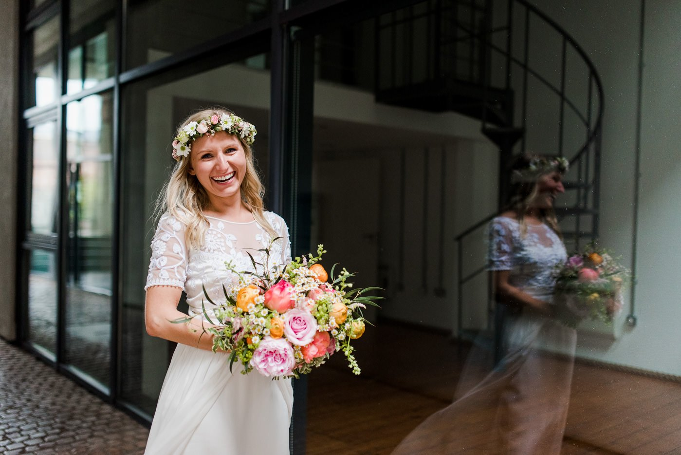 Paintworks wedding photographer in Bristol - Clare and Ed
