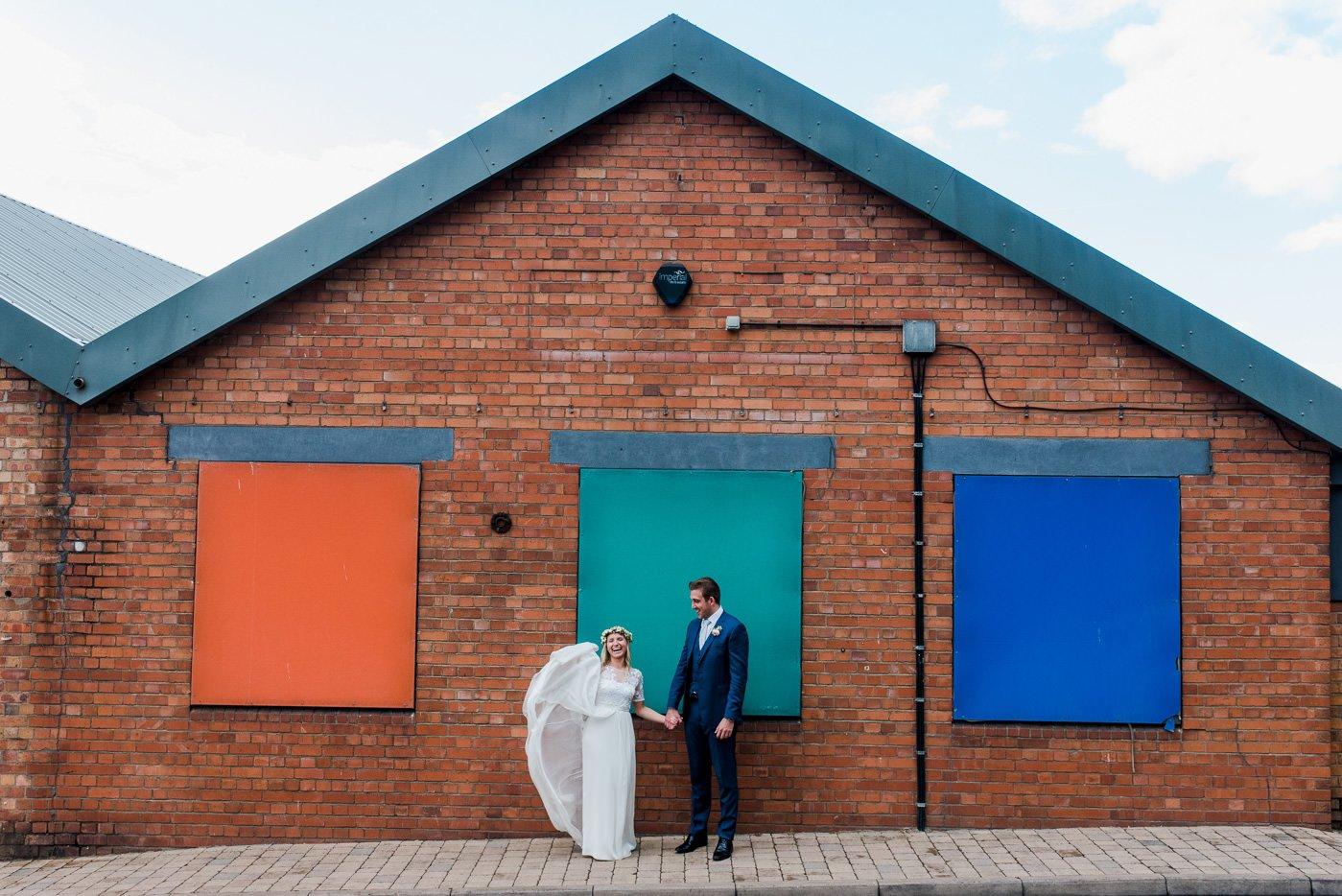 creative couples portraits paintworks wedding photographer