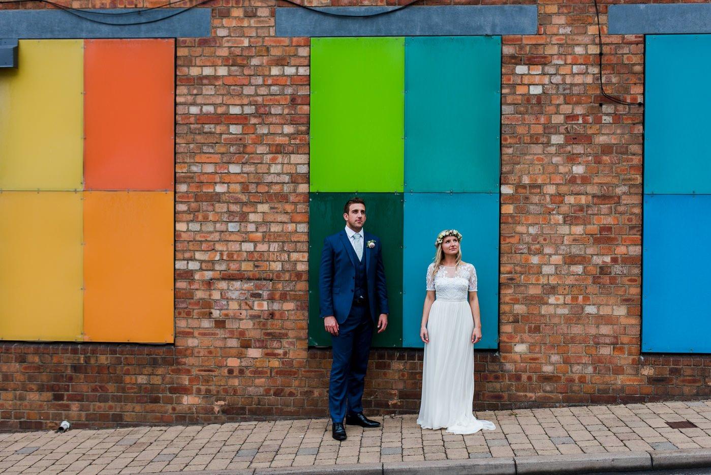 alternative wedding photos bristol wedding photographer