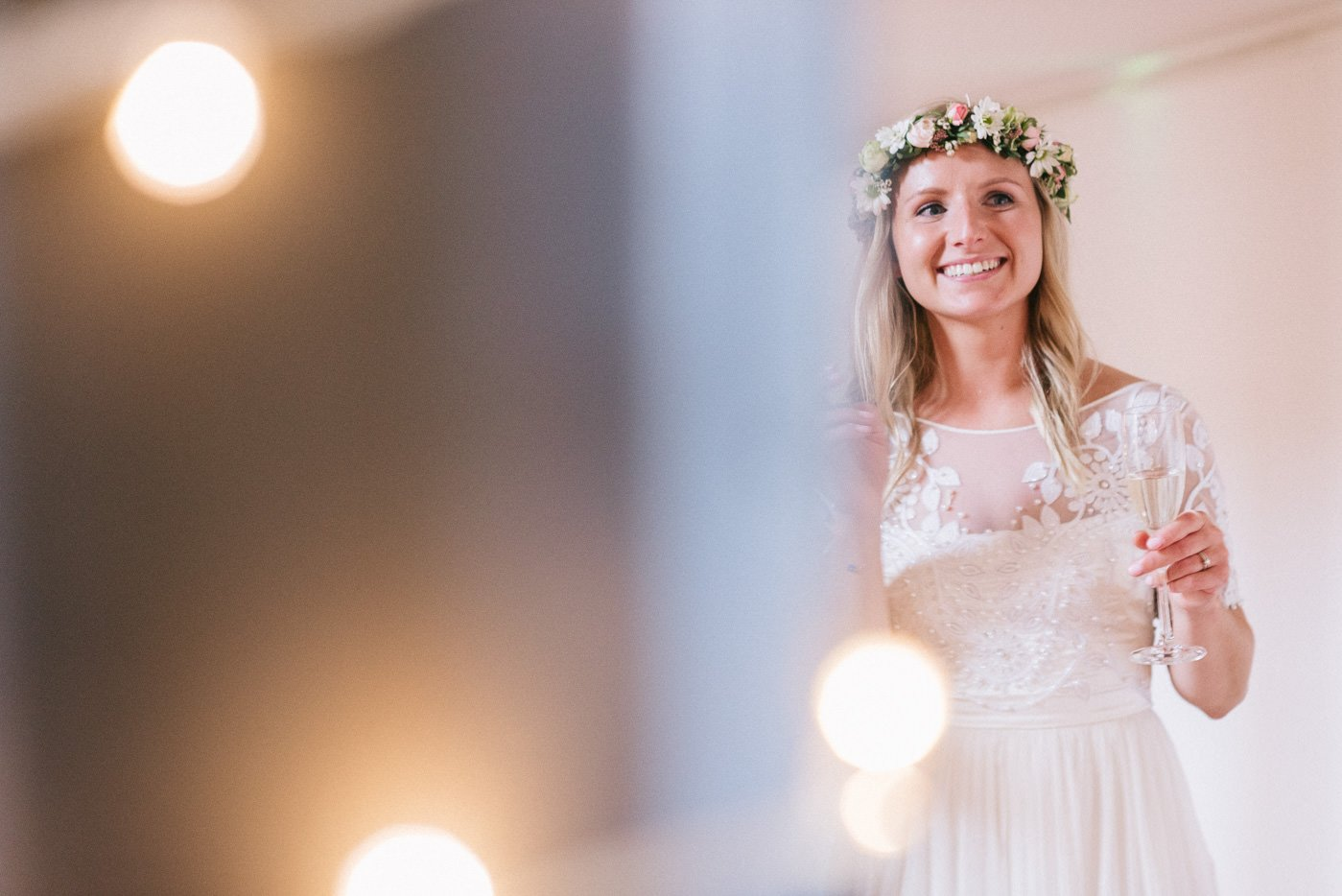 candid bride portrait paintworks wedding photographer