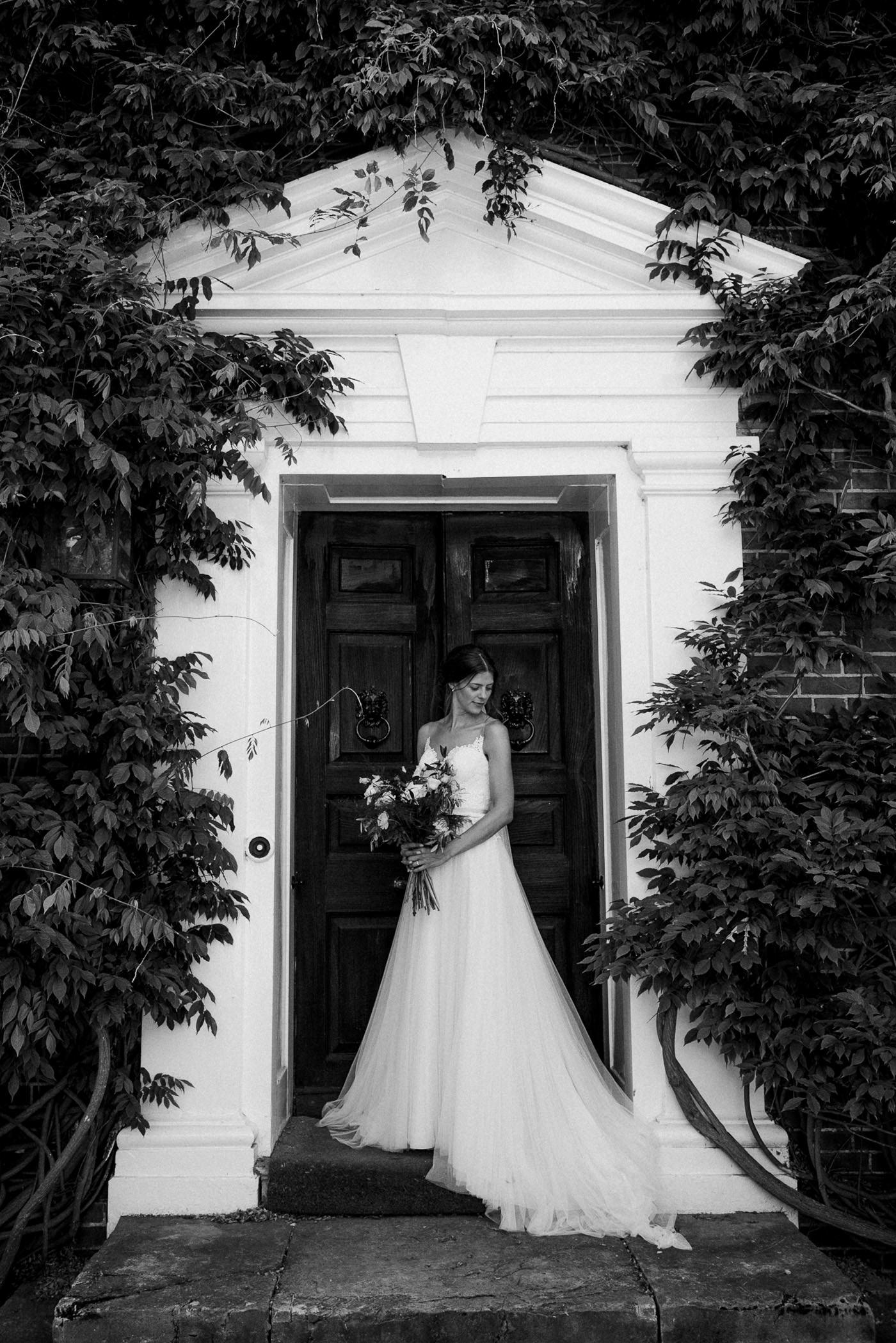 Sprivers Mansion Wedding classic bridal portrait