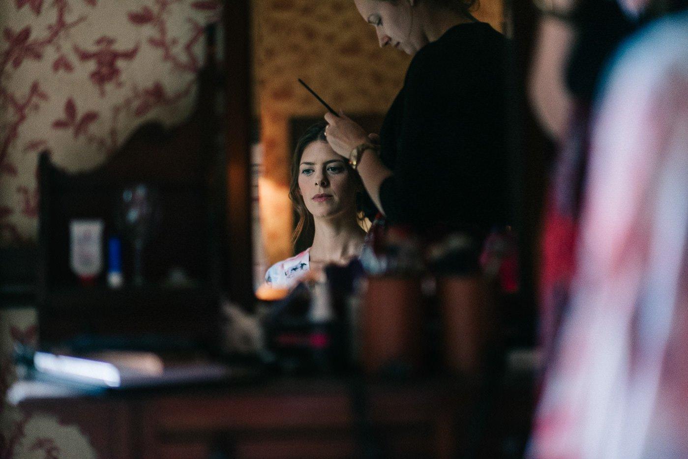 Sprivers Mansion Wedding bridal make up