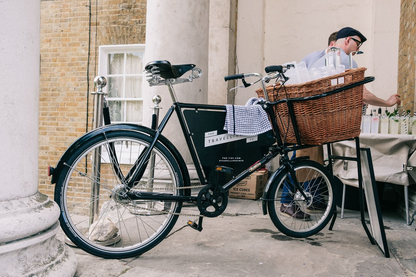 travelling gin bike asylum peckham