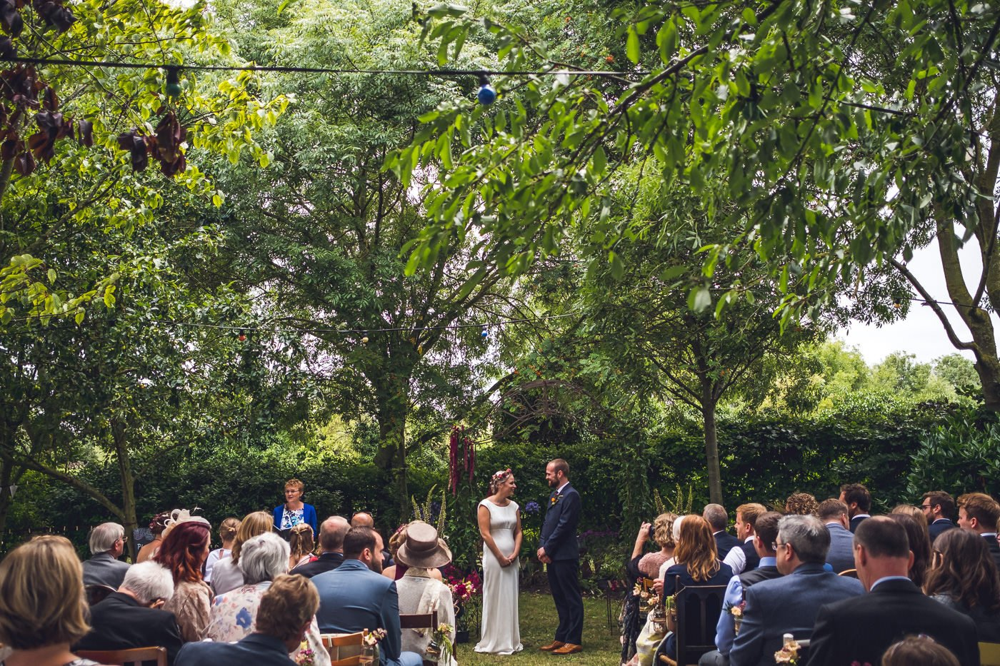 planning advice where to stand during the ceremony