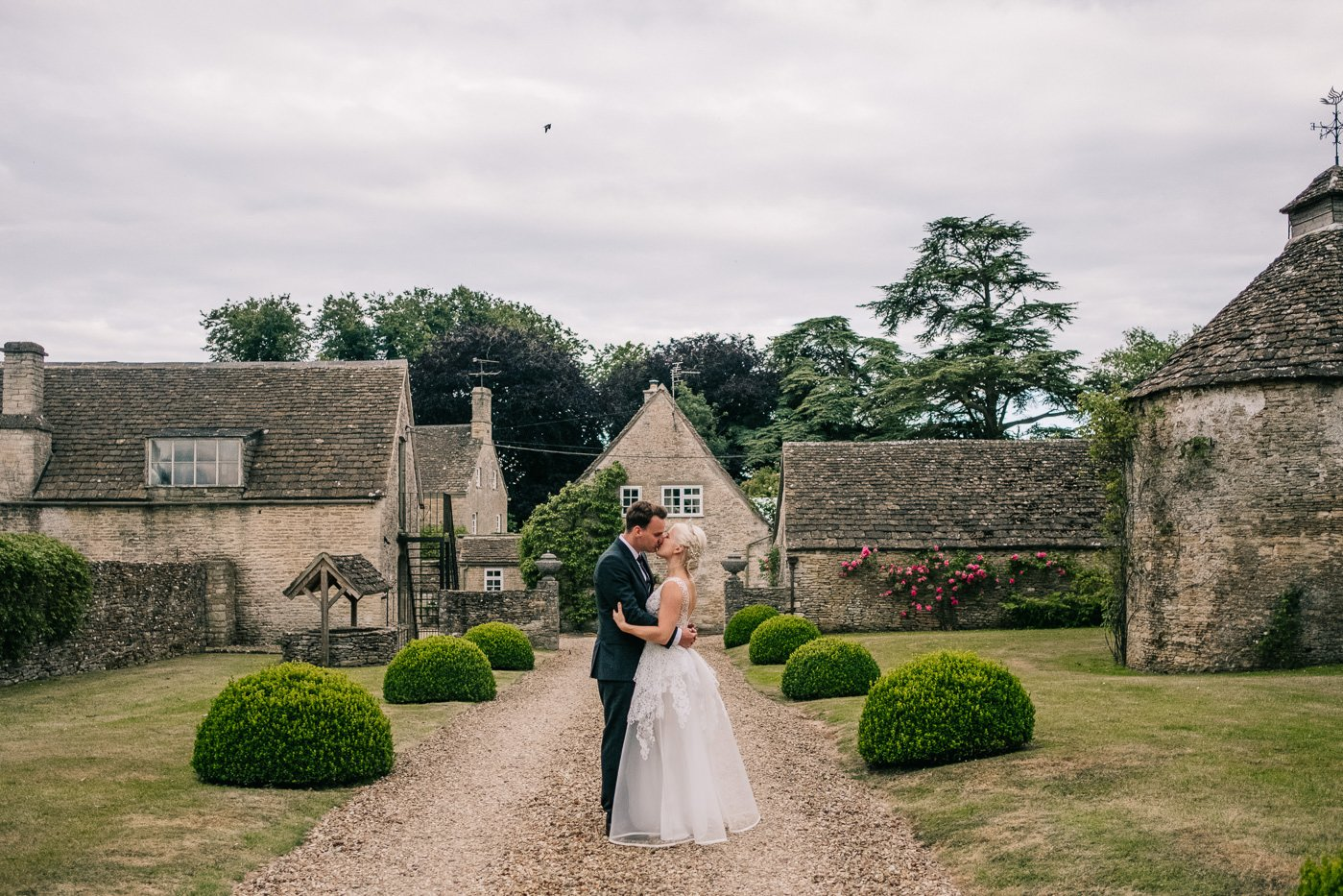 couples portraits cotswolds stone tetbury wedding