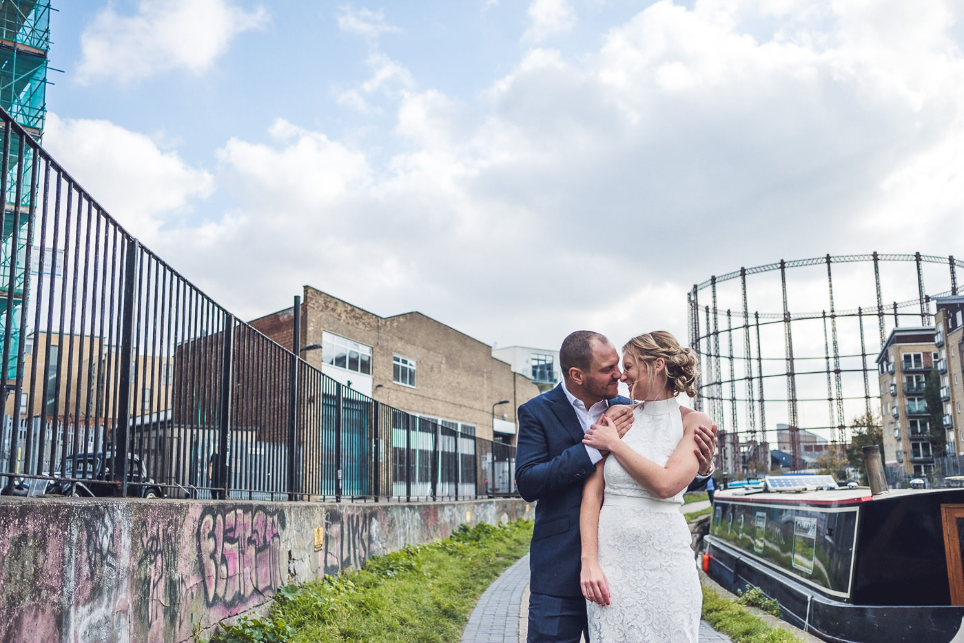 Hackney Town Hall Elopement Photographer