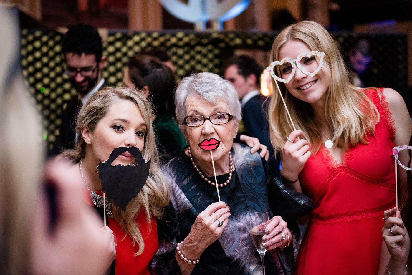 photobooth props Roman Baths Wedding Photography