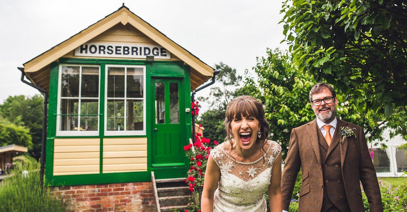 alternative wedding photographer birmingham colourful