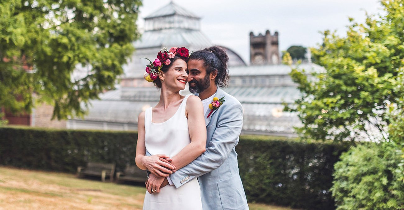 birmingham wedding photographer quirky colourful fusion