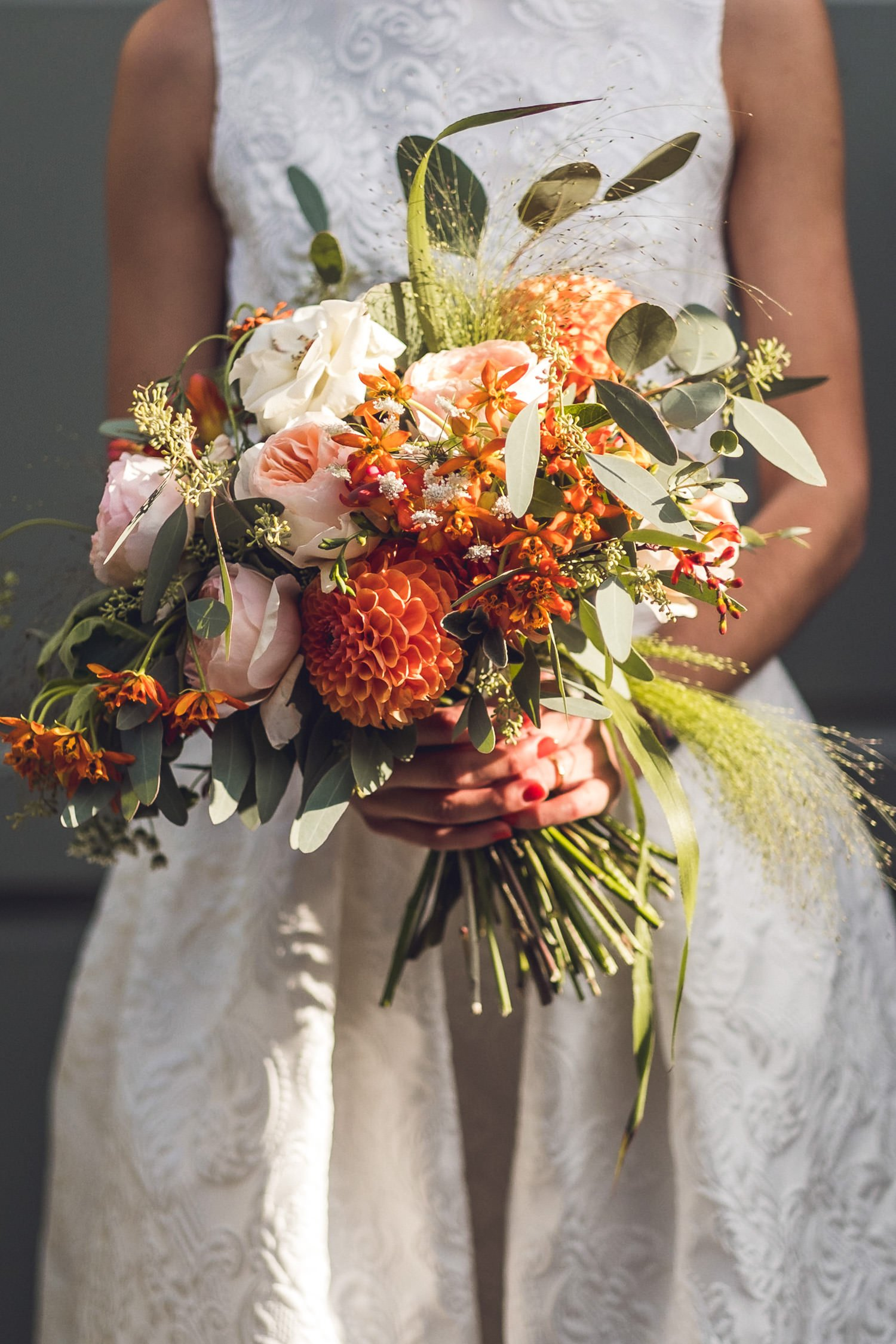That Flower Shop bouquet Clapton Country Club wedding photography