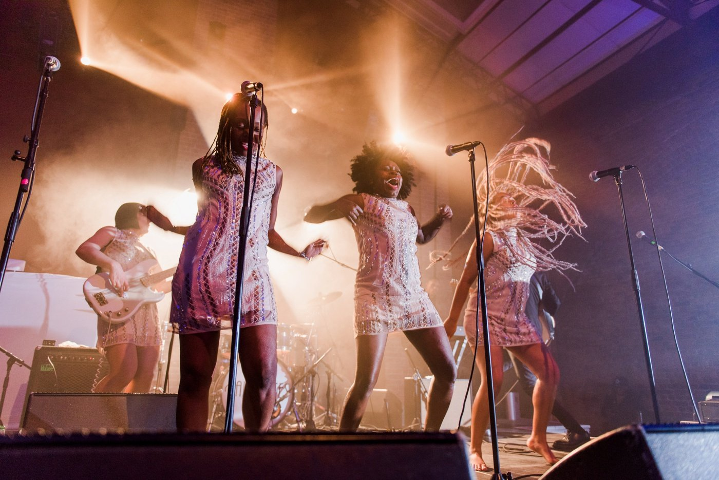 The Faithettes play at a Village Underground Wedding