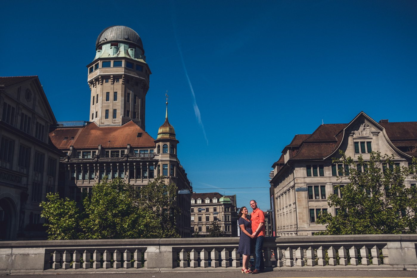 Zurich and Swiss Alps engagement photography