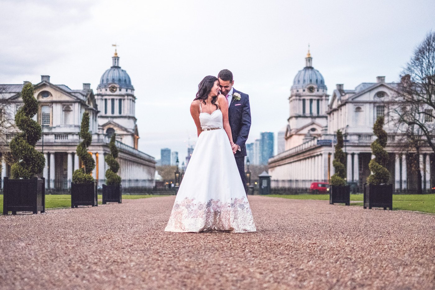Queens House Greenwich wedding photography London