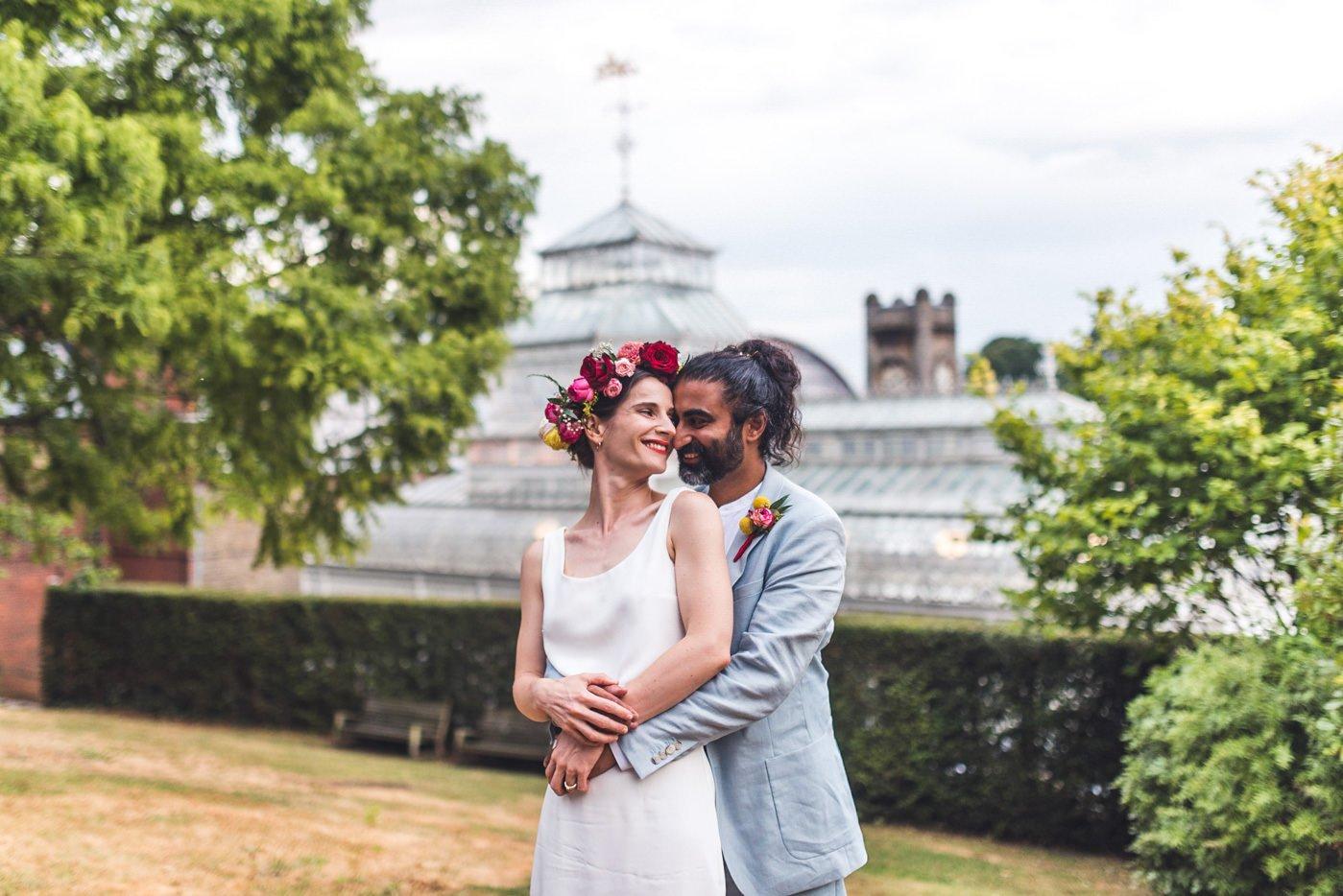 London wedding photographer Horniman museum