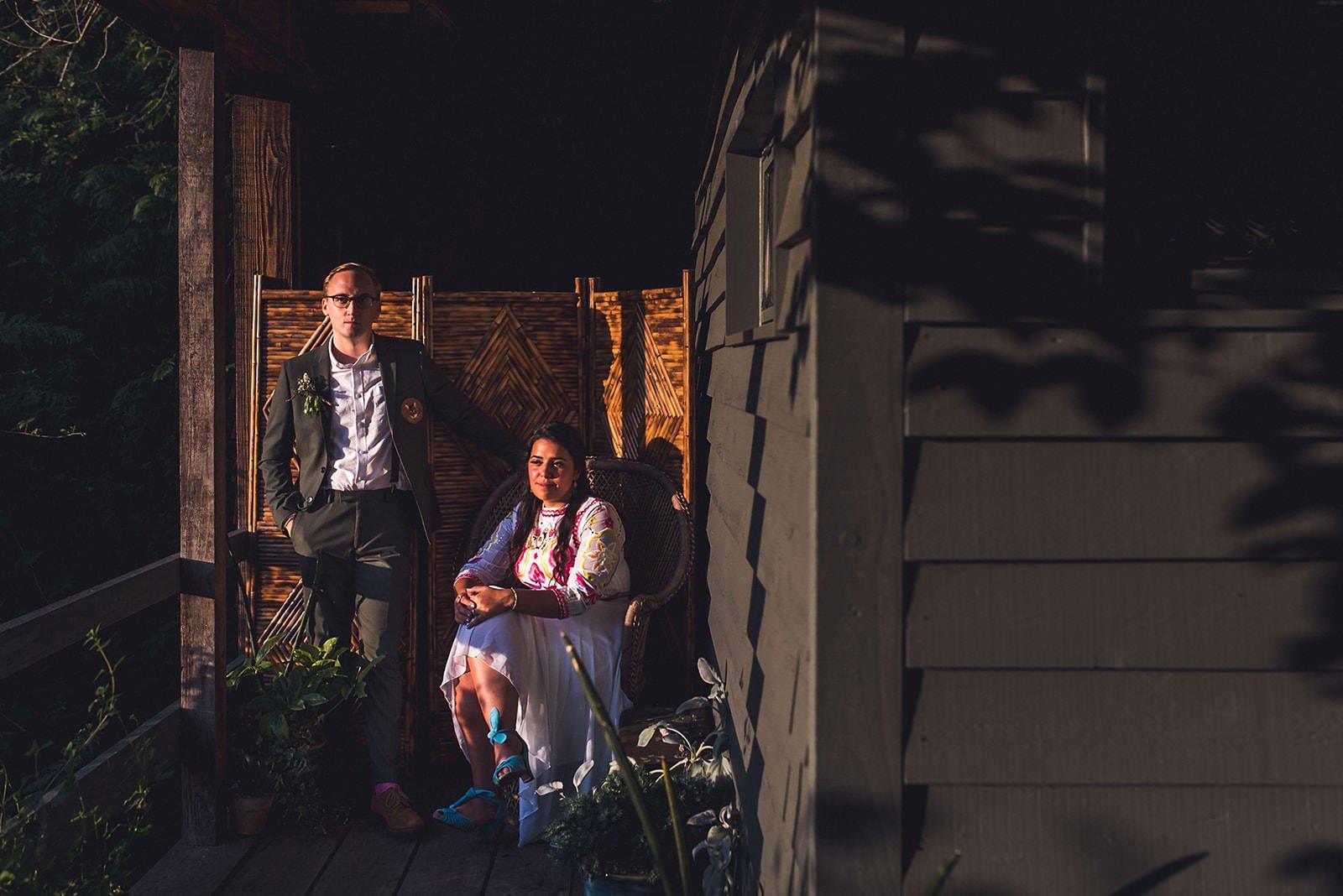 Alternative wedding photos Norfolk