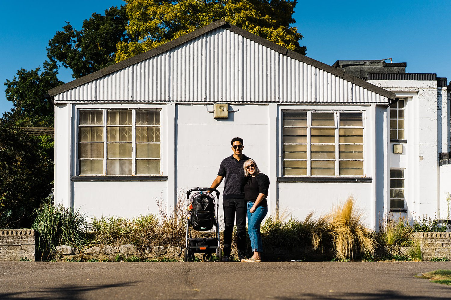 North London Family Photography urban portrait