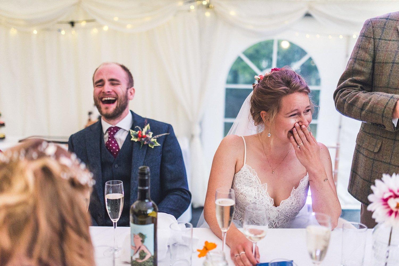 Funny speeches Rainy Tournerbury Woods Estate Wedding