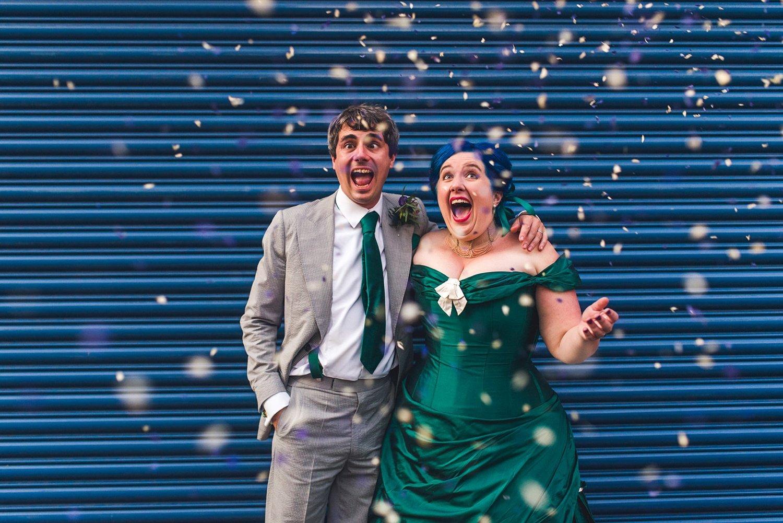 Alternative wedding photography London Dr Who